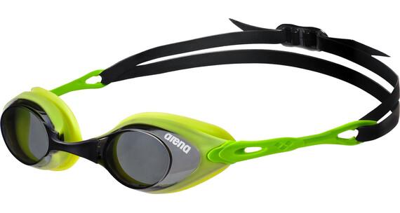 arena Cobra Goggles smoke-lime